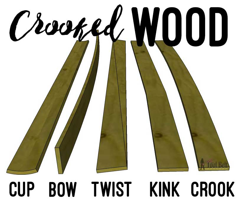 Getting started in woodworking guide - picking out straight wood