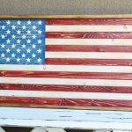 DIY Patriotic Wood Flag
