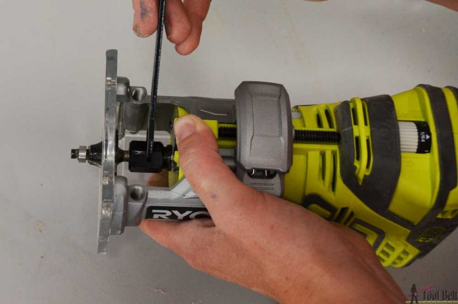 How to use a trim router.