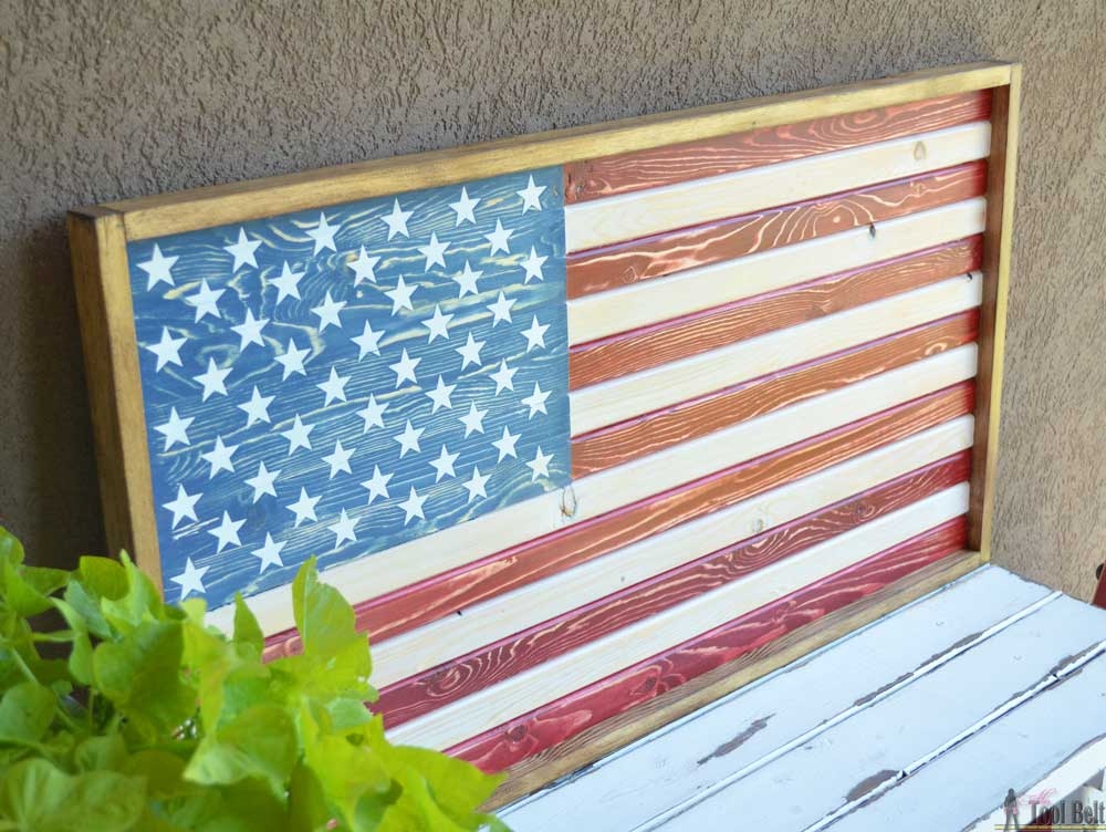 Strange Diy Patriotic Wood Flag Her Tool Belt Ibusinesslaw Wood Chair Design Ideas Ibusinesslaworg