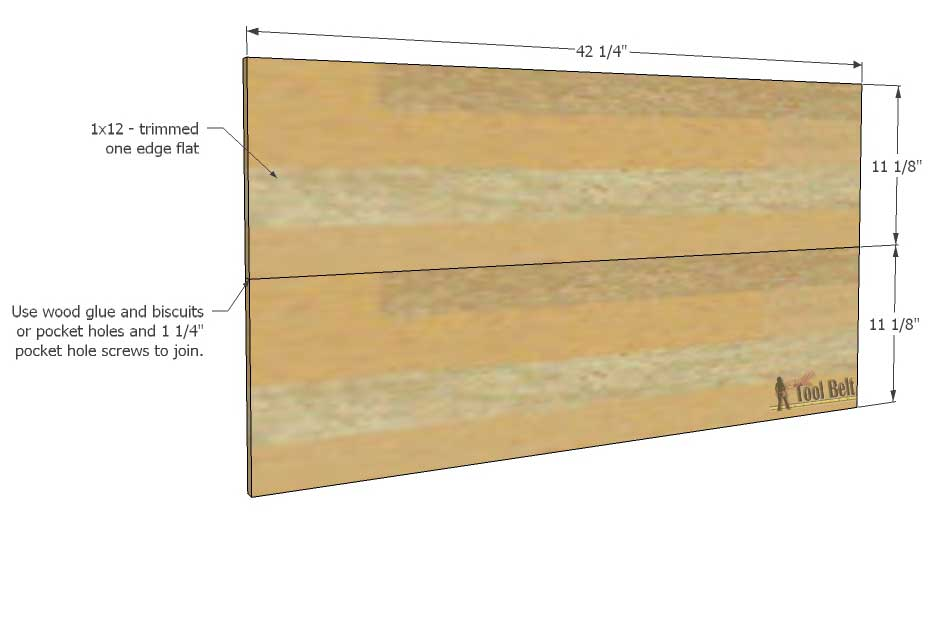 Joining Wood Boards ~ Diy patriotic wood flag her tool belt