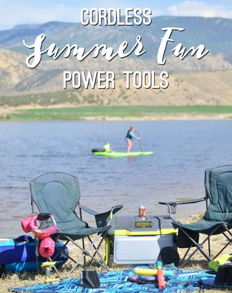 It's time to get out of the shop and have some summer fun, but don't worry you can take your power tools with you. 3 cordless summer fun power tools that you need!