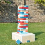 DIY Yard Game-Giant Block Tower Builder