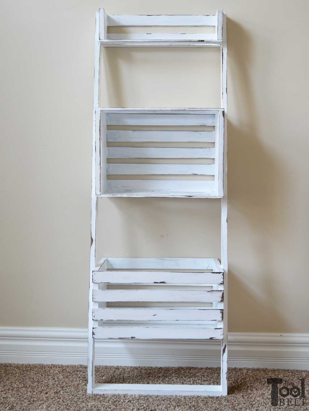 Oh This Would Be Super Easy To Make. Build A Leaning Storage And Bookshelf  With