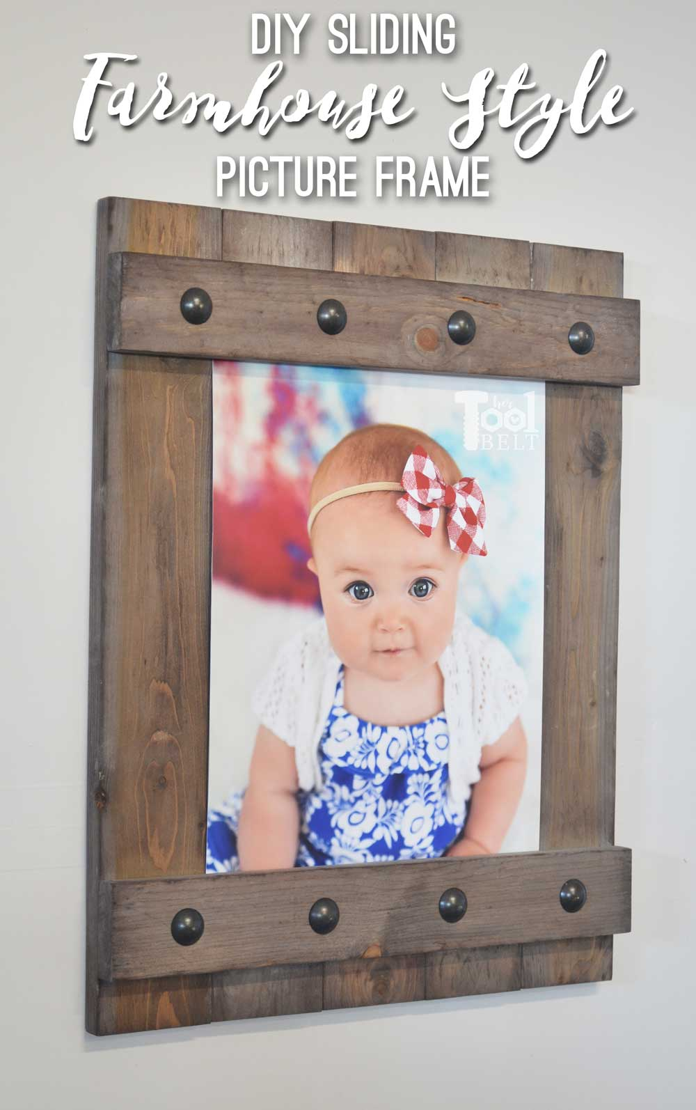Diy Easy Farmhouse Style Frame Her Tool Belt