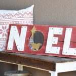 Handmade Wood Christmas Sign