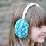 Handmade Gift Sweater Earmuffs