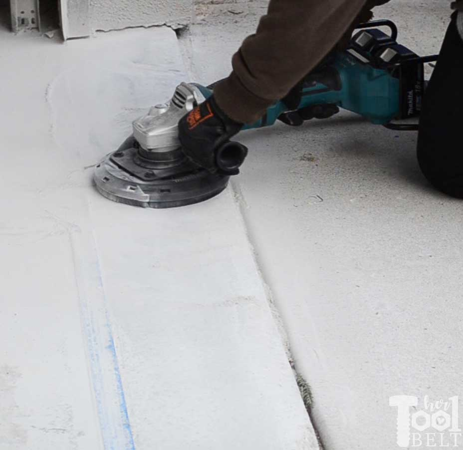 Water Problem Garage Floor Grinding