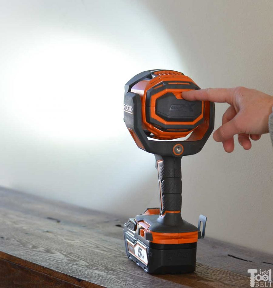 There's a flashlight, then there's a light cannon! Favorite features and tool review of the RIDGID Light Cannon.