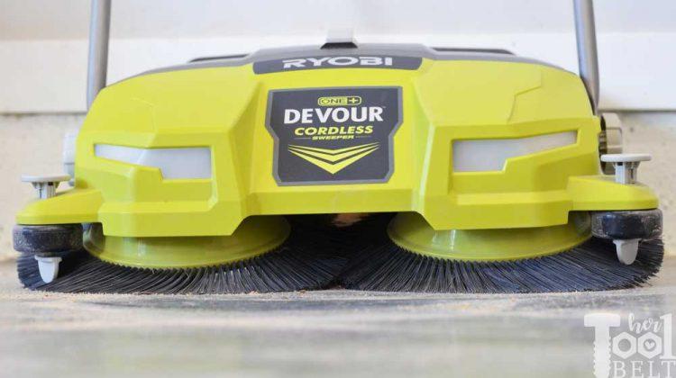 Ryobi Devour Sweeper Tool Review