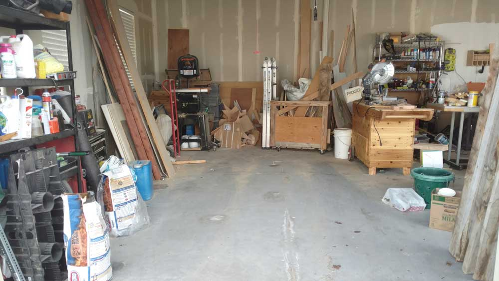 Awesome Oh My...scary Garage Before Pic.