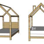 House Frame Bed – Full Size