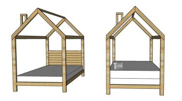 House Frame Bed – Full Size