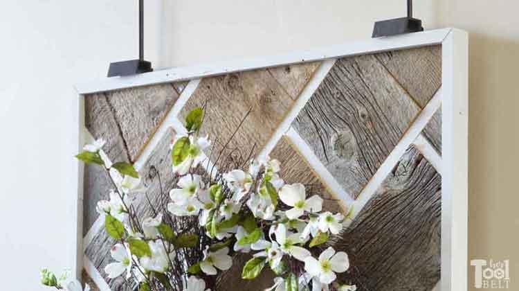 Brick Reclaimed Wood Wall Art