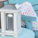 Wood and Mason Jar Solar Lantern