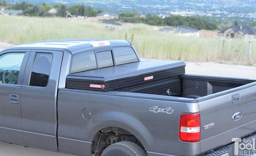 Weather Guard Saddle Truck Box Tool Review Her Tool Belt