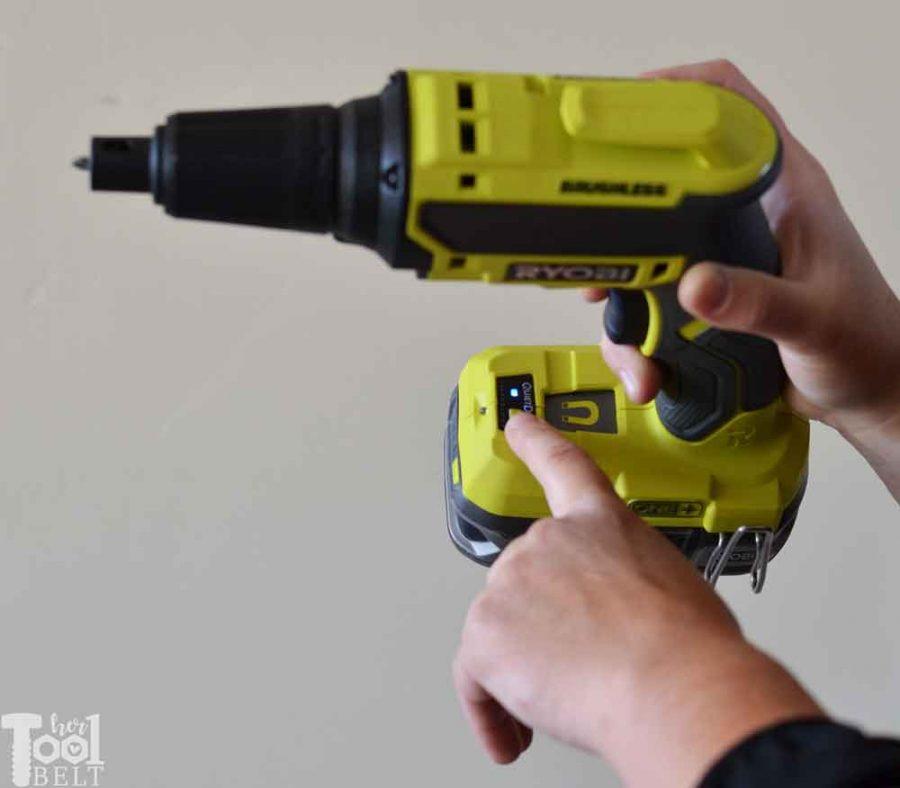 Ryobi Brushless Drywall Screw Gun Tool Review. Get repeatable screw depths every time!