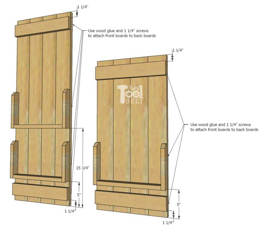 Need to organize the school work/papers and homework? Free plans to build a backpack storage & school work organizer. Build it for about $10 in wood.