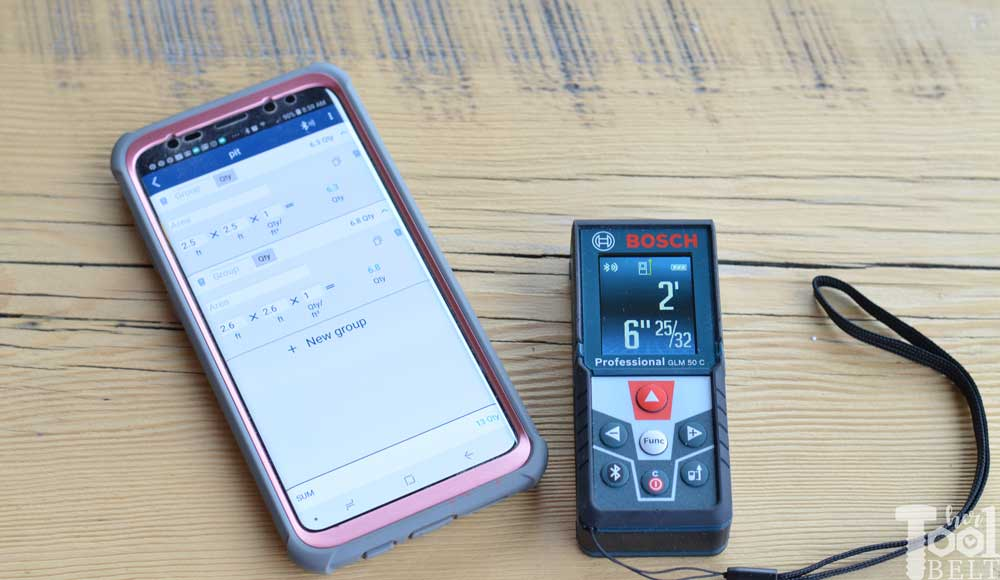 Bosch Glm 50 C Laser Distance Measure Tool Review Her Tool Belt
