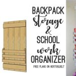 Backpack Storage and Organizer