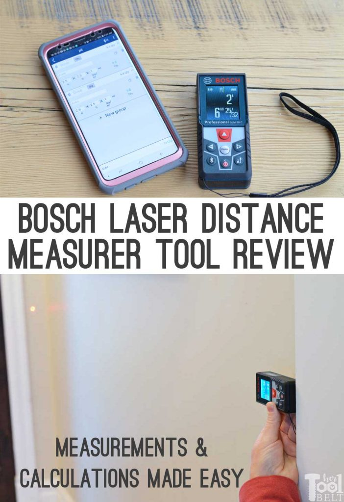 This little tool will help you easily measure distances up to 165 feet. It can calculate area, volume and with the free app help you keep track of jobs and rooms.