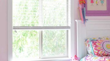 Trimming Windows – Girl's Bedroom Makeover for 2 – ORC Week 2