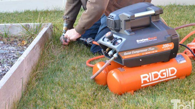 Winterizing Sprinklers – How to blow out sprinklers