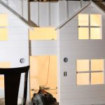 Basement Playhouse Build – Shiplap & Sheetrock