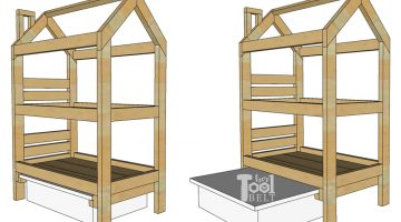 House Frame Doll Bunk Bed Plans