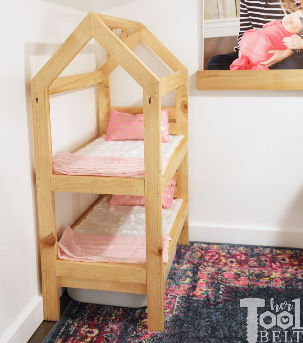 House Frame Doll Bunk Bed Plans Her