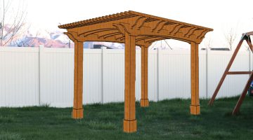 Planning a Backyard DIY Redwood Pergola and Entertainment Space