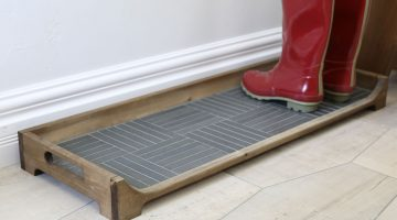 DIY Tile Boot Tray