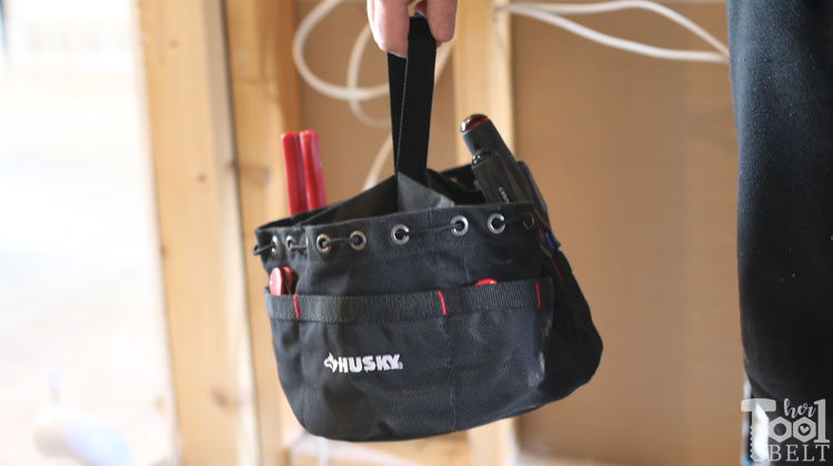Husky Mobile Office and Tool Organizer Tote Review - Her Tool Belt