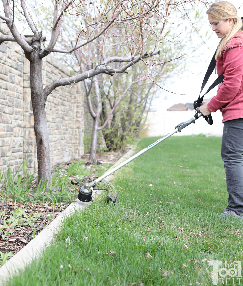 Spring Yard Clean-Up with Milwaukee Battery M18 Tools - Her Tool Belt