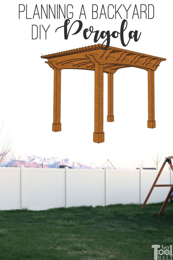 Planning on building a pergola in the backyard? There are a lot of material choices, this is why I'm going with redwood... #RedwoodDIY #JustRedwood