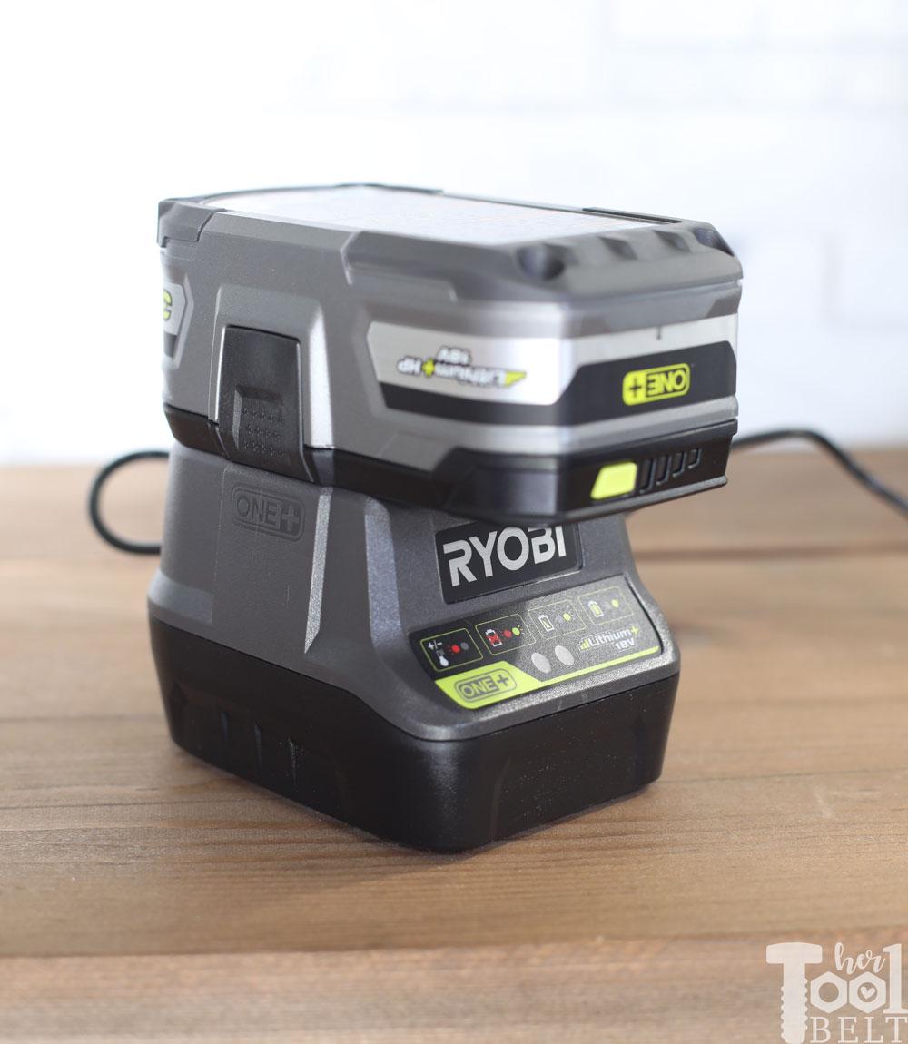 Ryobi Inverter - 18V Battery Powered - Her Tool Belt