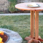 Connie Round Side Table Plans