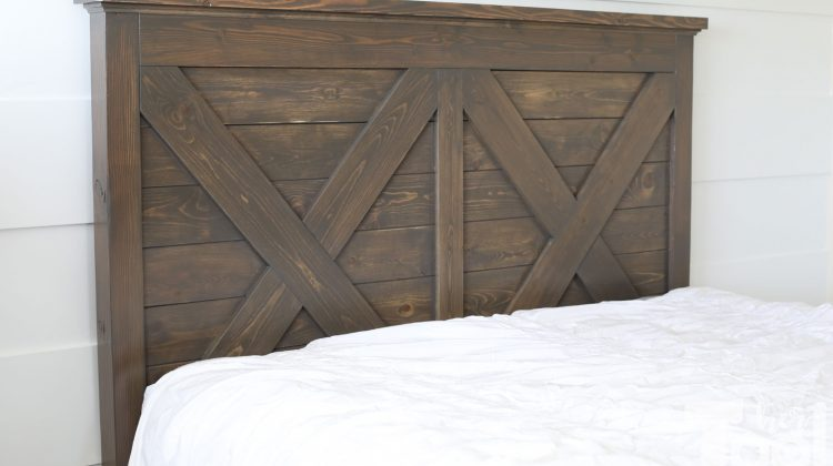King X Barn Door Farmhouse Bed Plans