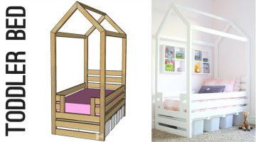 House Frame Toddler Bed