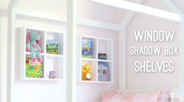 Window Shadow Box Shelf Plan