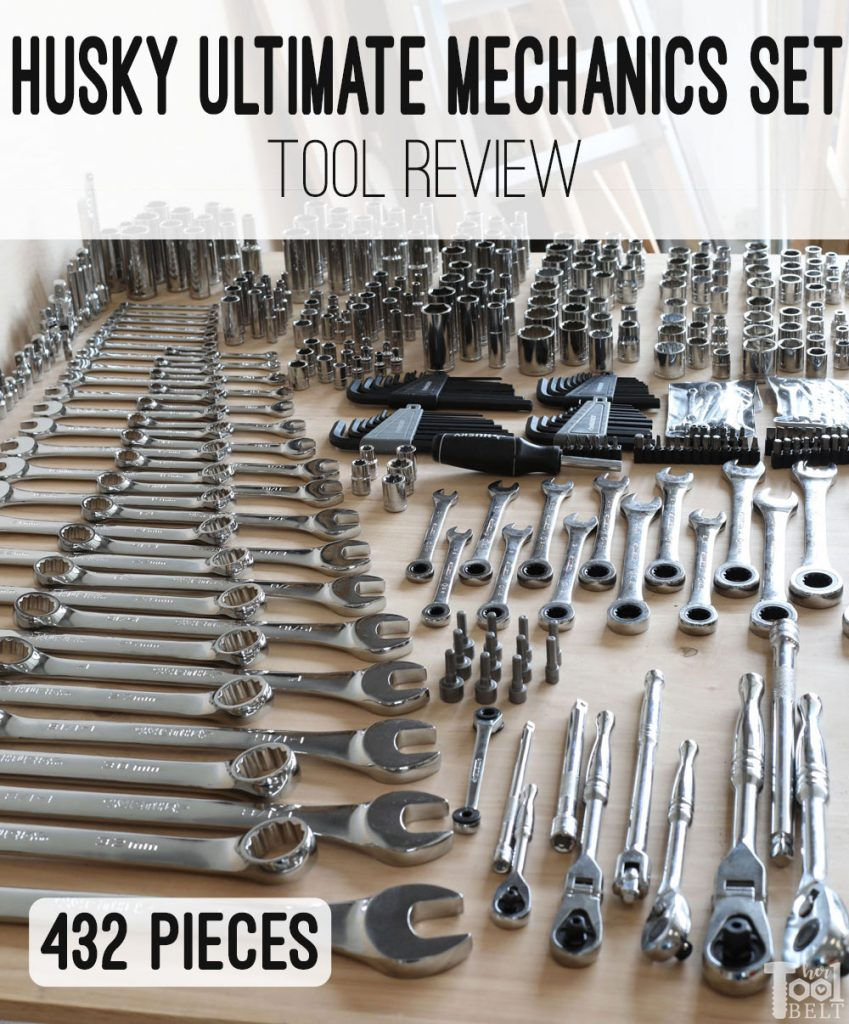 Tool review of Husky's Ultimate mechanics set, excellent kit for the DIY mechanic!