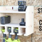 Custom Drill Storage and Charge Station – Easy