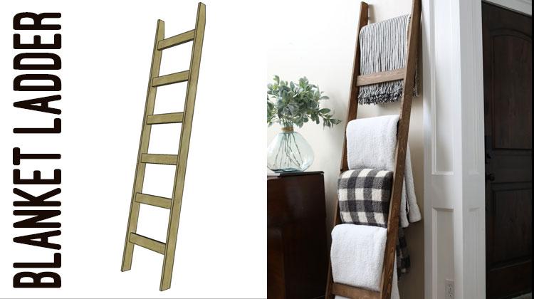 $5 Blanket Ladder