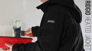 Ridgid 18 volt Battery Heated Jacket Review