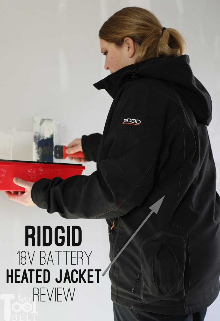 Totally over working in the cold? Check out the Ridgid heated jacket that runs off of 18 volt batteries!