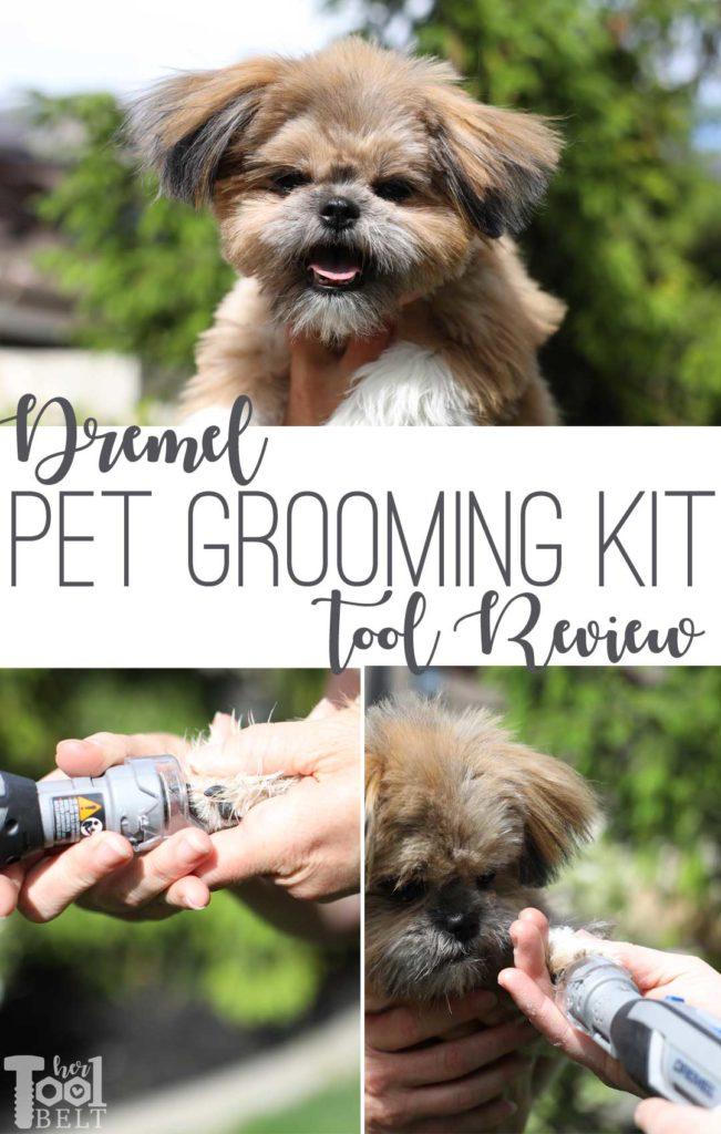 Keeping those fur babies nails trimmed. Dremel pet grooming kit tool review.