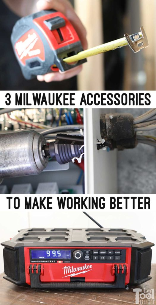 3 Milwaukee accessories that will make work better or easier. Check them out. #THDprospective