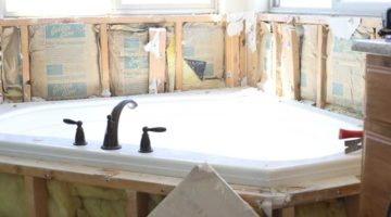 Master Bathroom Reno week 1 – Jeffrey Court All-Star Challenge