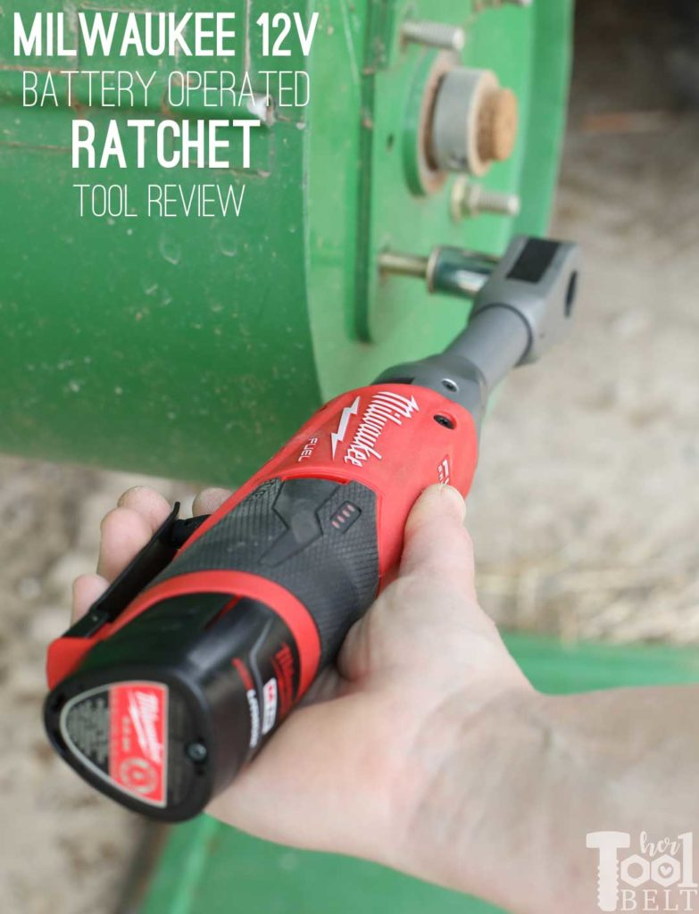 "Need power tools that can handle heavy equipment? Tool review of Milwaukee's 12v 3/8"" Extended Reach Ratchet! #THDprospective"