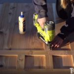 Basement Playhouse – Cedar Door & Accents